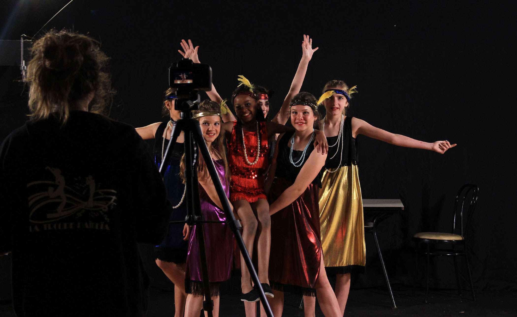 tournage enfants cabaret charleston musical