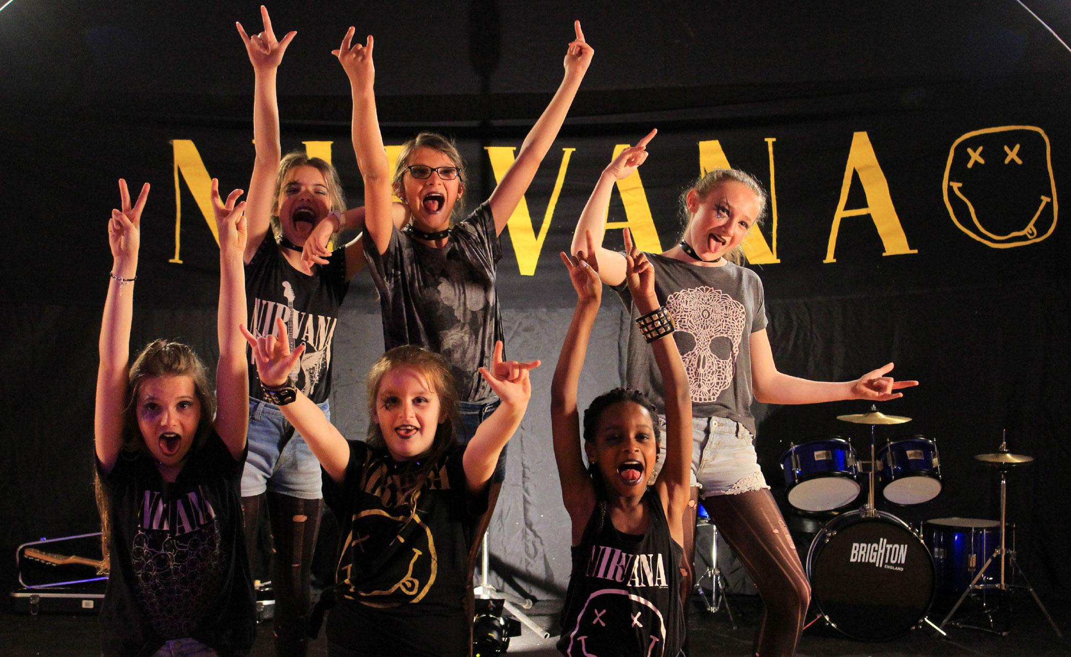 tournage enfants teaser rock