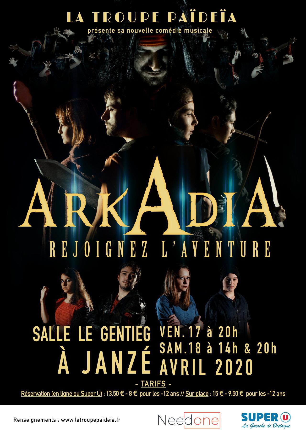 Arkadia, rejoignez l'aventure - La Troupe Païdeïa